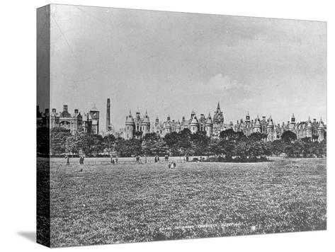 Royal Infirmary, Edinburgh, Scotland, Late 19th or Early 20th Century--Stretched Canvas Print