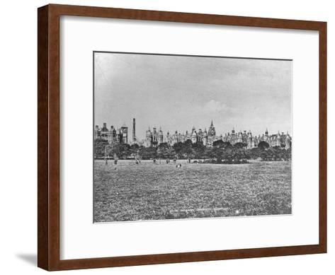 Royal Infirmary, Edinburgh, Scotland, Late 19th or Early 20th Century--Framed Art Print