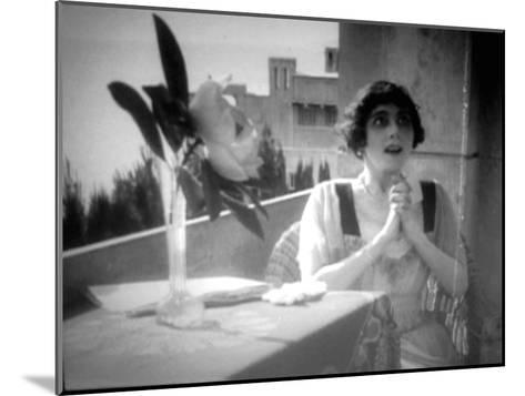 Vera Karalli, Russian Ballet Dancer and Silent Film Actress, 1917--Mounted Giclee Print