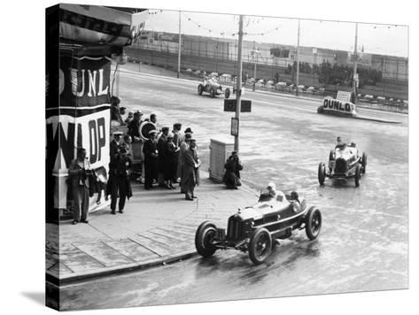 Brian Lewis in an Alfa Romeo Monza in the Mannin Moar Race, Douglas, Isle of Man, 1933--Stretched Canvas Print