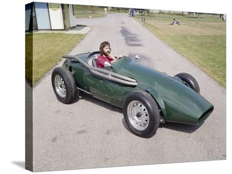Eric Clapton in a 1955 Connaught, (C1970S)--Stretched Canvas Print