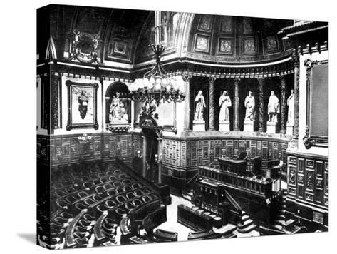 The Chamber of the French Senate, Paris, France, 1926--Stretched Canvas Print