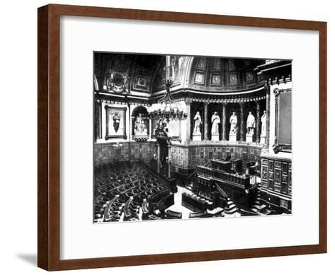 The Chamber of the French Senate, Paris, France, 1926--Framed Art Print