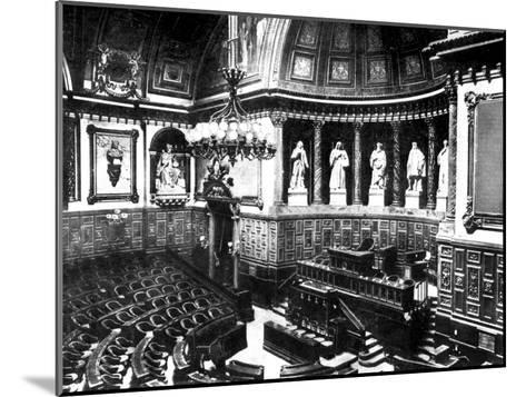 The Chamber of the French Senate, Paris, France, 1926--Mounted Giclee Print
