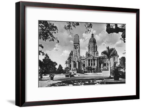 War Memorial and City Hall, Durban, South Africa--Framed Art Print