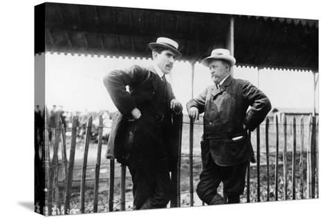 Louis Renault and Henri Brasier, 1908--Stretched Canvas Print