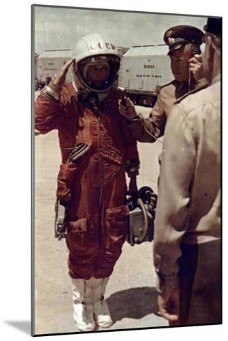 Valentina Tereshkova, Russian Cosmonaut, Baikonur Cosmodrome, USSR, 16 June 1963--Mounted Giclee Print