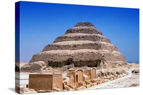 Step Pyramid of King Djoser (Zoze), Saqqara, Egypt, 3rd Dynasty, C2613 Bc--Stretched Canvas Print