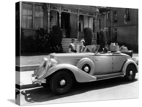 Auburn 8 Convertible Coupe, 1934--Stretched Canvas Print
