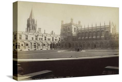 Dining Hall, Christ Church College, Oxford, Oxfordshire, Late 19th or Early 20th Century--Stretched Canvas Print