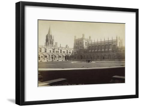Dining Hall, Christ Church College, Oxford, Oxfordshire, Late 19th or Early 20th Century--Framed Art Print