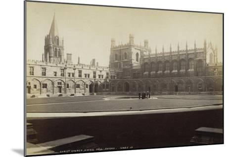 Dining Hall, Christ Church College, Oxford, Oxfordshire, Late 19th or Early 20th Century--Mounted Giclee Print