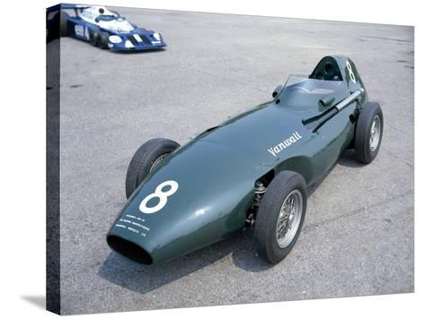 A 1958 Vanwall--Stretched Canvas Print