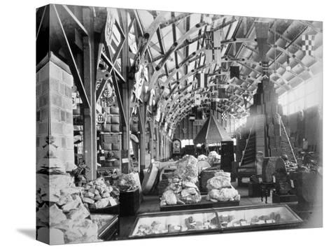 Mineral Court of New South Wales, Centennial International Exhibition, Australia, 1888- O'Shamessy-Stretched Canvas Print