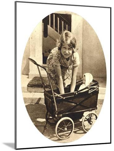 Princess Elizabeth, Future Queen Elizabeth II of Great Britain, Windsor, 1930S--Mounted Giclee Print