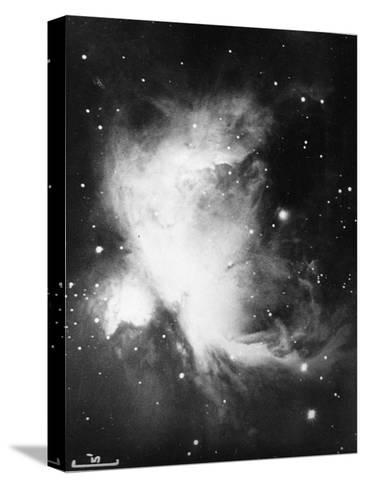 Great Nebula in Orion (NGC 1976 - M4), 16 November 1898--Stretched Canvas Print