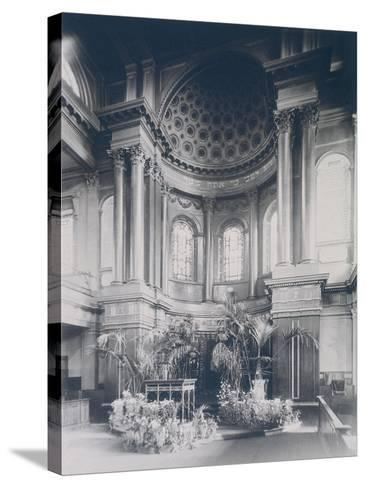 New Synagogue, Great St Helens, London, 1911--Stretched Canvas Print