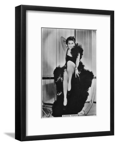 Suzanne Kaaren, American B-Movie Actress, C1938--Framed Art Print