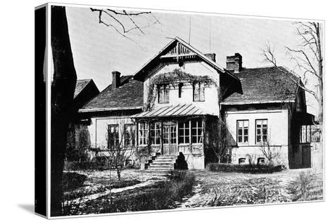 House Where Marie Curie Was Governess, C1887--Stretched Canvas Print