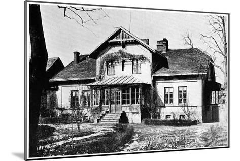 House Where Marie Curie Was Governess, C1887--Mounted Giclee Print
