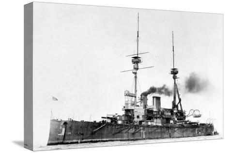 HMS Lord Nelson, C1908-1920--Stretched Canvas Print