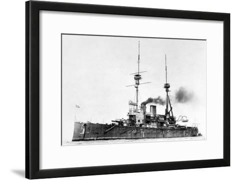 HMS Lord Nelson, C1908-1920--Framed Art Print