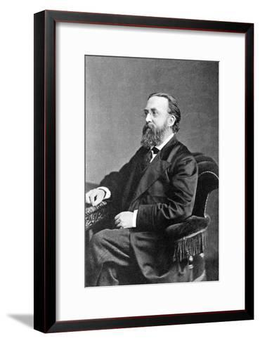 Justin Mccarthy, Irish Historian, Author and Nationalist Politician--Framed Art Print