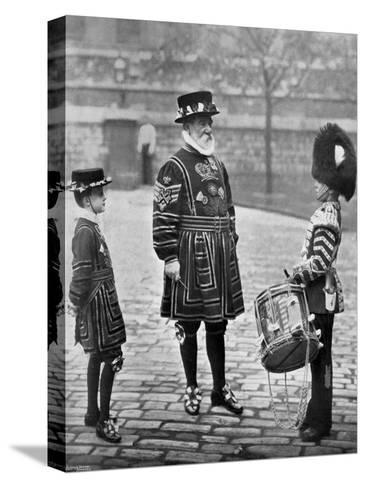 Sergeant-Major Patrick Penrose, the Yeoman Porter, London, 1896-Gregory & Co-Stretched Canvas Print