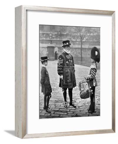 Sergeant-Major Patrick Penrose, the Yeoman Porter, London, 1896-Gregory & Co-Framed Art Print