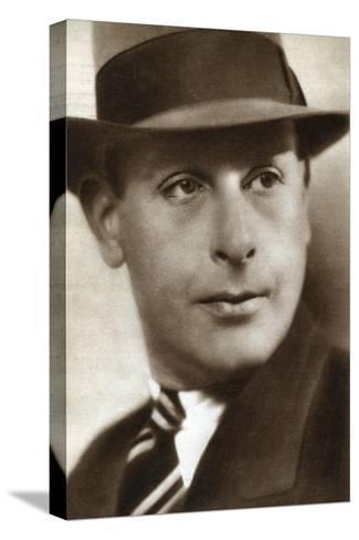 Cedric Hardwicke, English Actor, 1933--Stretched Canvas Print