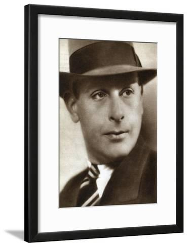 Cedric Hardwicke, English Actor, 1933--Framed Art Print