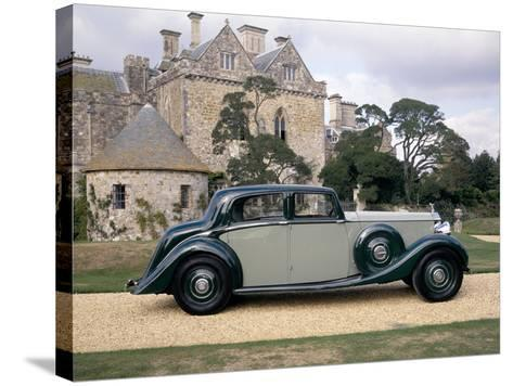 A 1938 Rolls-Royce Phantom III--Stretched Canvas Print