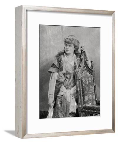 Julie Feyghine, French Actress, 1881--Framed Art Print