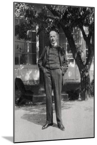 Romain Rolland, French Dramatist, Author, Art Historian and Mystic, 1921--Mounted Giclee Print