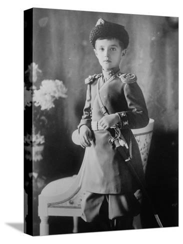 Tsarevich Alexei of Russia, C1910-C1914--Stretched Canvas Print