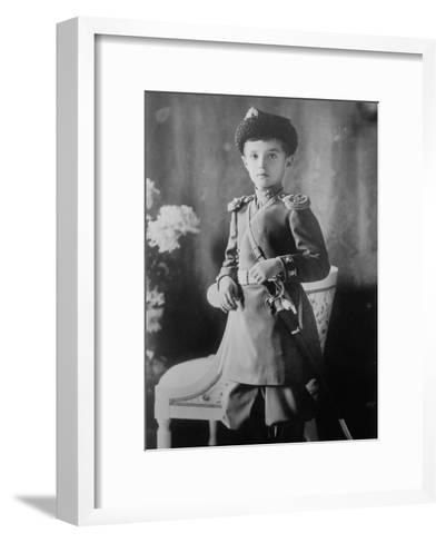 Tsarevich Alexei of Russia, C1910-C1914--Framed Art Print