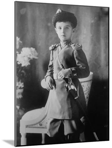 Tsarevich Alexei of Russia, C1910-C1914--Mounted Giclee Print