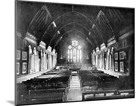 Schoolroom, Uppingham, Rutland, 1924-1926-Valentine & Sons-Mounted Giclee Print