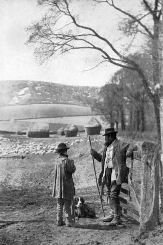 Everyday Life in the Country, 1926--Stretched Canvas Print