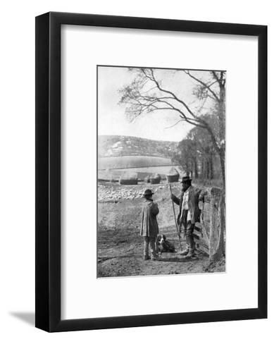Everyday Life in the Country, 1926--Framed Art Print