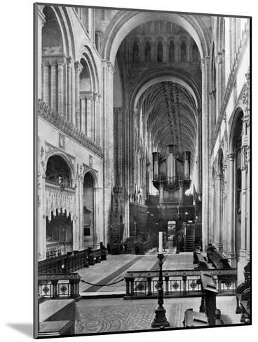 The Choir, Norwich Cathedral, 1924-1926- Francis & Co Frith-Mounted Giclee Print