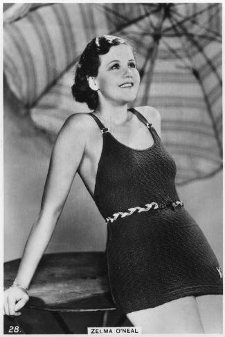 Zelma O'Neal, American Actress, Singer, and Dancer, C1938--Stretched Canvas Print