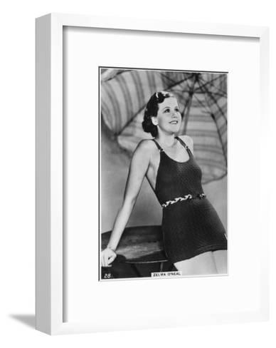 Zelma O'Neal, American Actress, Singer, and Dancer, C1938--Framed Art Print