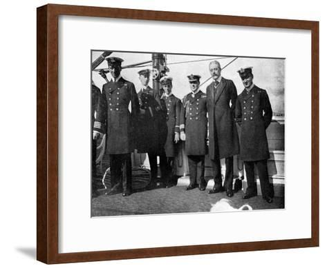 On Board the Royal Yacht Victoria and Albert Iii, Christiania (Osl), Norway, 1908--Framed Art Print