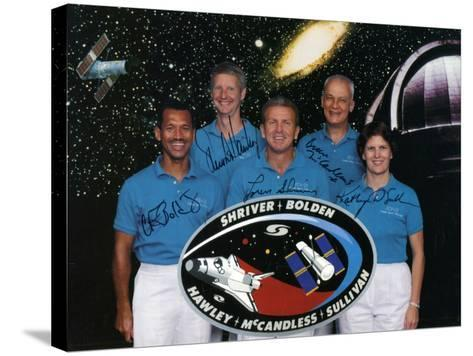 The Crew of Space Shuttle Mission Sts-31, 1990--Stretched Canvas Print