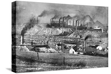 The Black Country, Staffordshire, 1926-Edgar & Winifred Ward-Stretched Canvas Print
