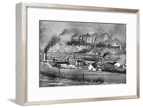 The Black Country, Staffordshire, 1926-Edgar & Winifred Ward-Framed Art Print