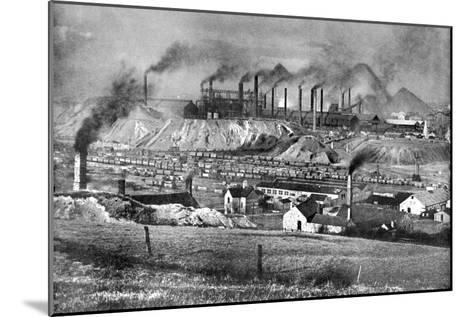 The Black Country, Staffordshire, 1926-Edgar & Winifred Ward-Mounted Giclee Print