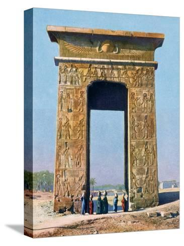 Gateway to the Temple Complex of Karnak, Luxor, Egypt, 20th Century--Stretched Canvas Print