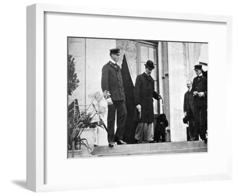 King Christian IX of Denmark (1818-190) with His Grandsons, 1908--Framed Art Print